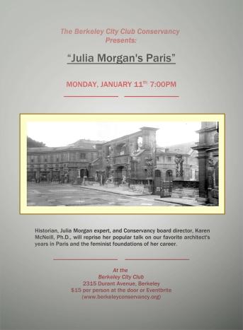 Paris talk flyer